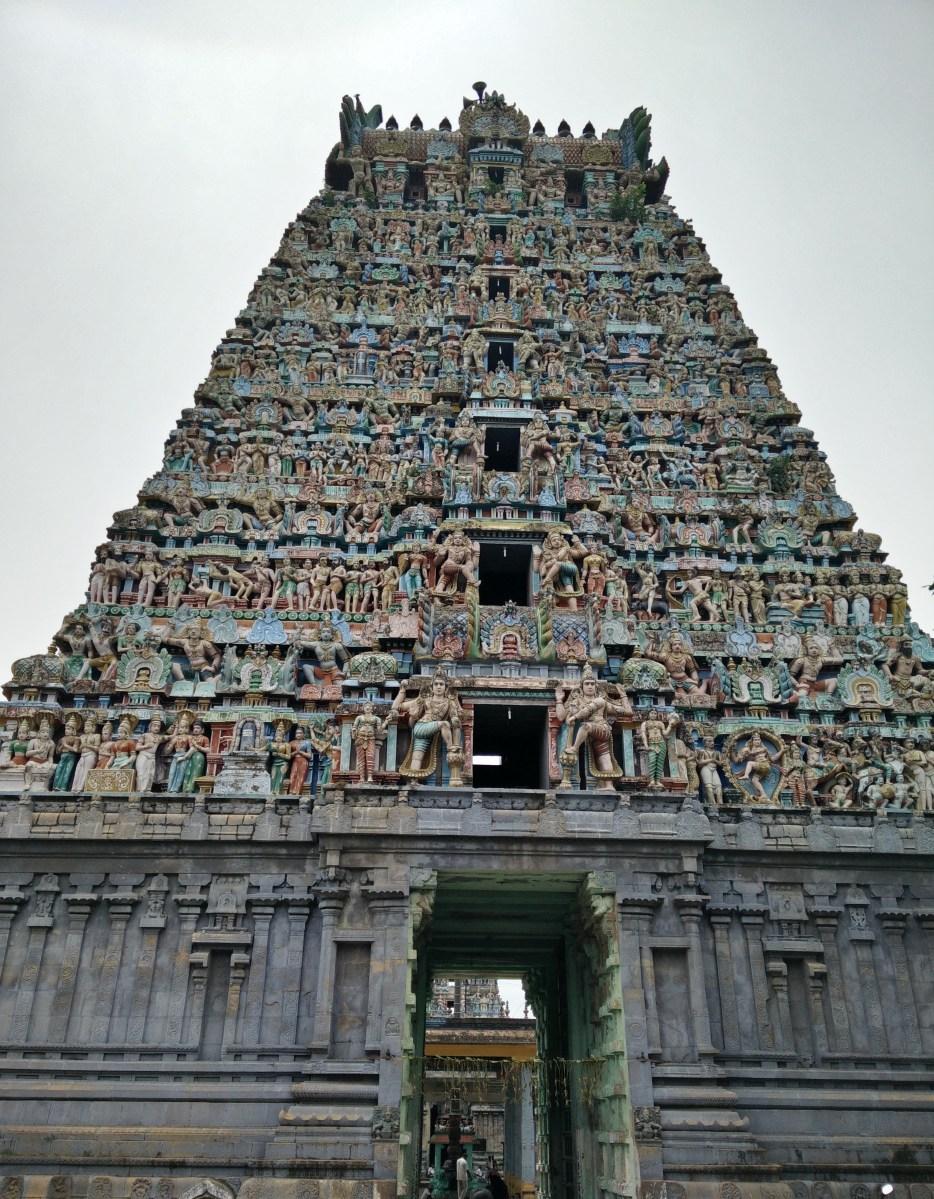 Thirupananthal - Sri Aruna Jadewswarar temple