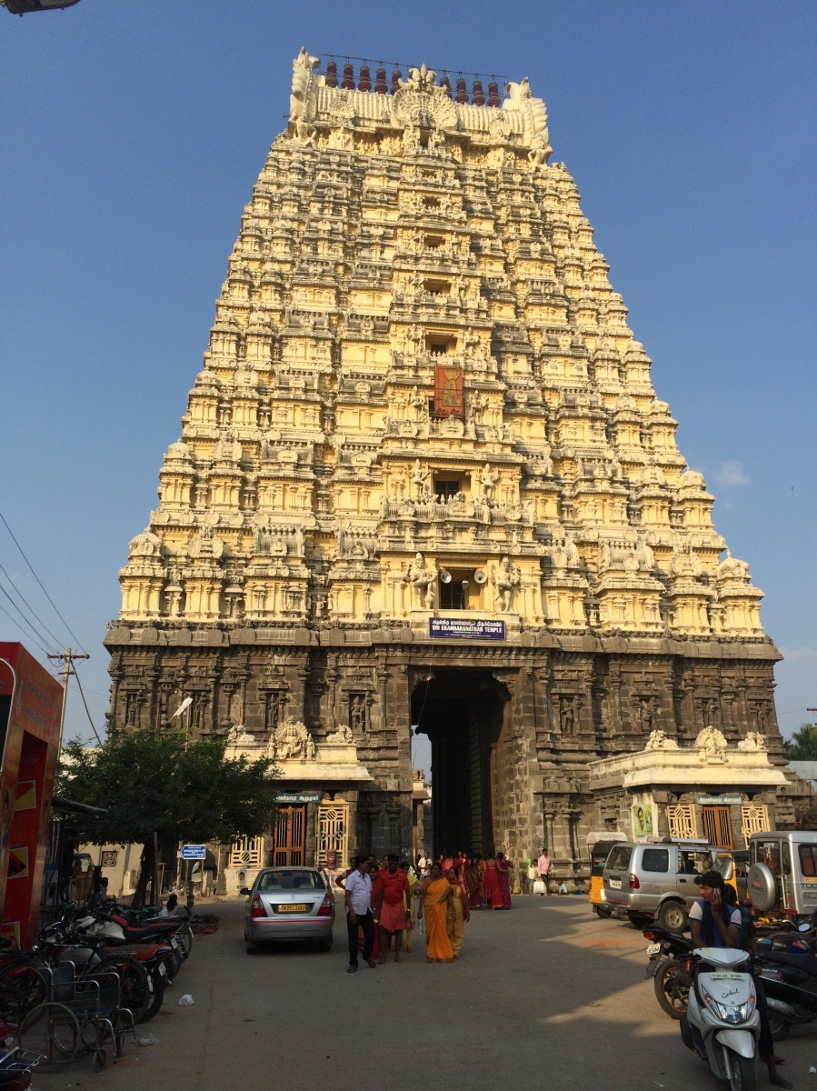 Kanchipuram - Ekambareswarar Temple
